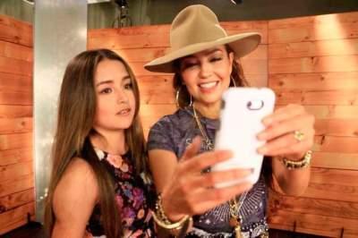 Rubí ahora se codea con famosos como Thalía y Reik