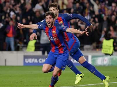 Barcelona logra épica hazaña de seis goles y accede a cuartos
