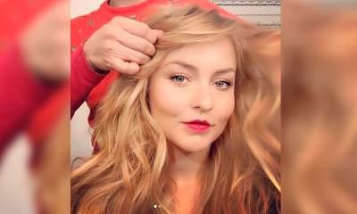 'Beauty gold!' Angelique Boyer presume su nuevo y deslumbrante look
