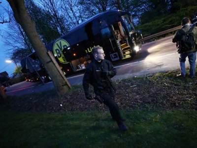 Confirma explosión en autobús de Borussia Dortmund.