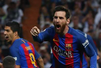 De la mano de Messi, Barcelona derrota 2-3 al Real Madrid