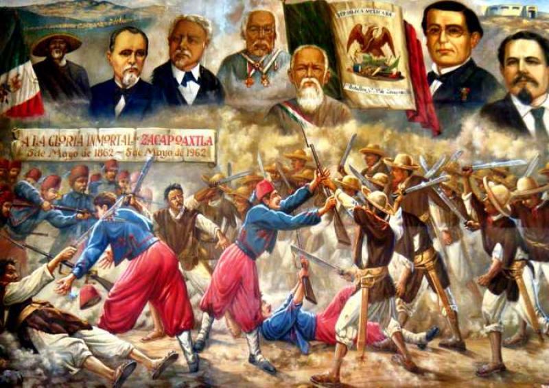La Batalla de Puebla conmemora su 155 aniversario