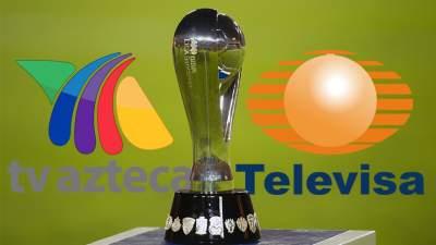 La final de ida entre Tigres y Chivas va por Televisa y por Tv Azteca