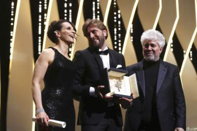 """Película sueca """"The square"""" ganó la Palma de Oro en Cannes"""