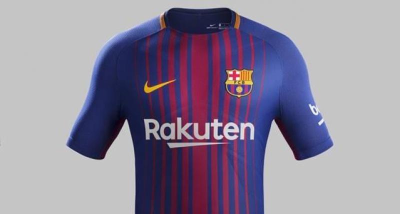 Barcelona presenta su nueva playera b90133e968653