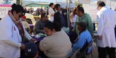 Llevarán acciones de salud a San Quintín