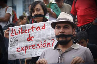 Nada que festejar hoy en el Día de la Libertad de Expresión en México