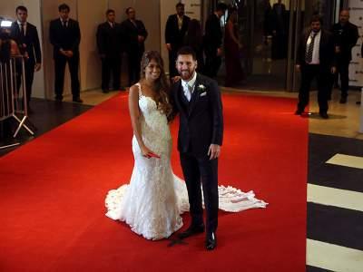 Messi y Roccuzzo ahora son marido y mujer