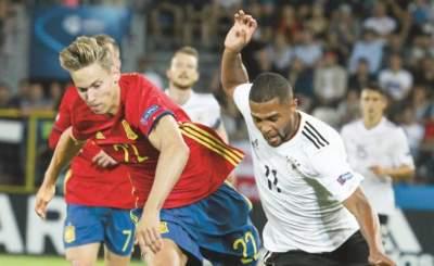 UEFA impulsa a naciones de la Sub-21