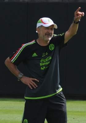 Osorio ya trabaja con México