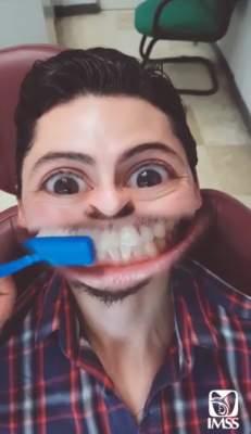 Campaña del IMSS sobre cepillado dental se vuelve viral