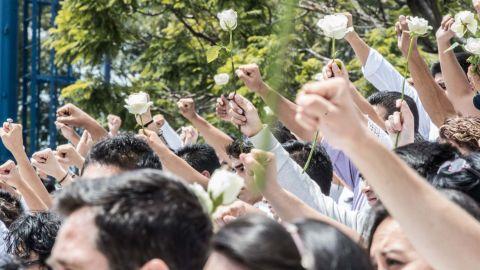 Despiden a estudiantes del Tec de Monterrey que murieron en sismo