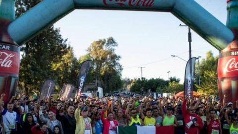 Más de 800 corredores participaron en el Medio Maratón Tecate 2017