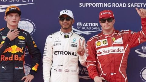 Hamilton logra la pole y Vettel saldrá desde el fondo