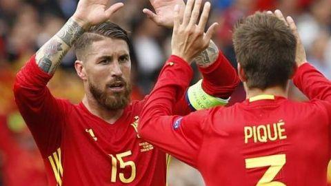 Sergio Ramos borra foto en redes con el mapa de España