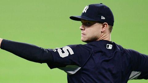 Yankees anuncian su rotación para la SDLA contra Indios