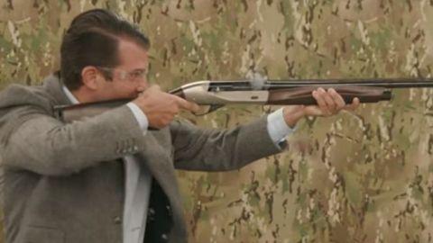 Trump Jr. promocionó silenciadores de armas