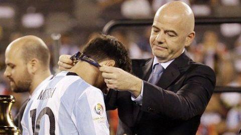 Injusto que Messi se retirara sin ganar un Mundial: Infantino
