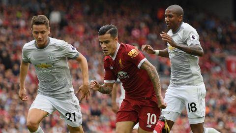 Manchester United empató clásico ante Liverpool y deja liderato en riesgo