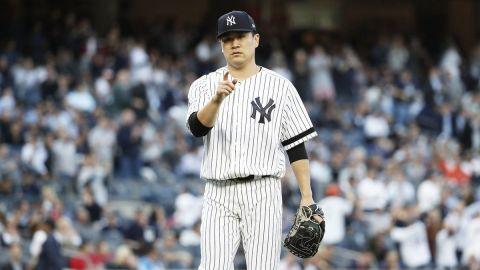Tanaka lució y Yankees acaricia la Serie Mundial