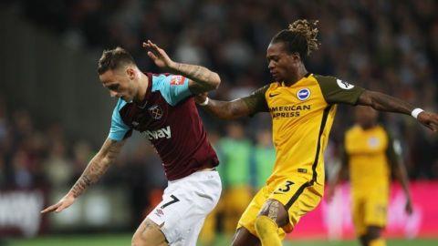 Brighton el recién ascendido goleó al West Ham; Chicharito jugó los 90'