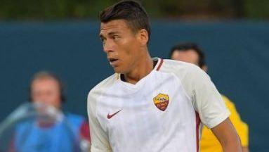 Moreno fue titular en la Roma