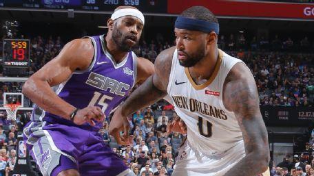 Cousins: 41 puntos y 23 rebotes en su regreso a Sacramento