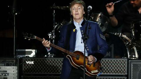 ¡Fuerza México! exclamó Paul McCartney
