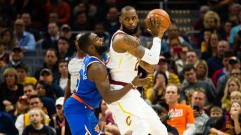 Knicks vencen a Cavs, que sufren 4ta derrota en 5 partidos