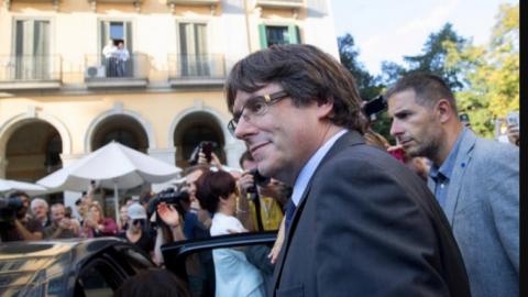 Puigdemont viaja a Bélgica ante querellas contra él y su equipo