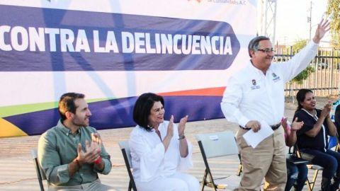 Siguen formando los comites de seguridad publica vecinal en Mexicali