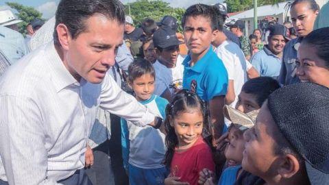 Peña entregará apoyos a damnificados de sismo en Oaxaca