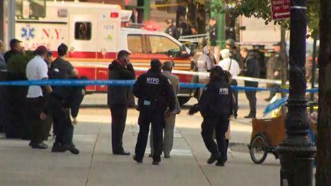 Por lo menos 6 muertos tras atropellamiento y tiroteo en Manhattan