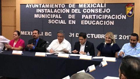 Instalan Consejo Municipal de Participación Social en Educación