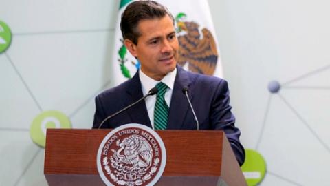 """México trabaja para disminuir mortalidad por cáncer"", dice EPN"