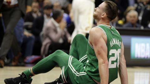 Hayward ya trabaja en recuperación de lesión