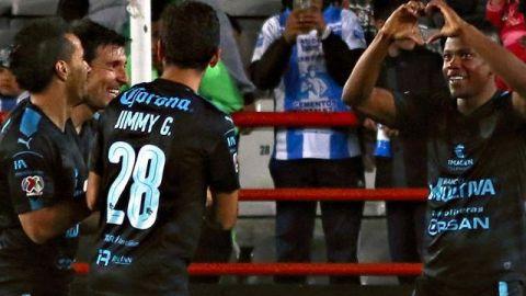 Querétaro ganó en Pachuca y los eliminó del Apertura