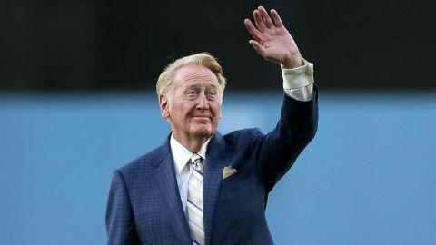 """Vin Scully: """"Nunca volveré a ver un partido de la NFL"""""""