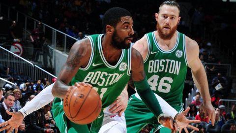 Irving y Celtics superan a Hawks en los últimos instantes