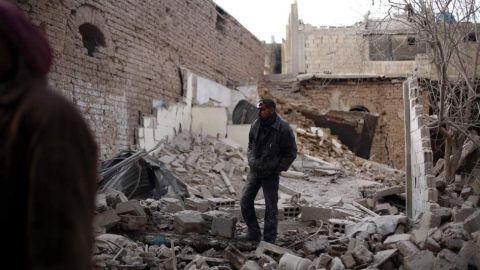 Al menos 10 muertos y 33 heridos por caída de cohetes en Damasco y periferia
