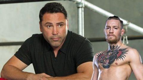 'Lo noqueo en dos rounds': Oscar de la Hoya reta a Conor McGregor