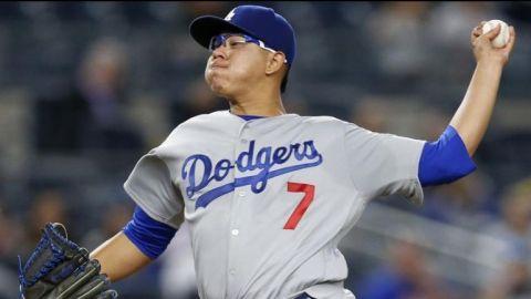 Julio Urías podría volver con los Dodgers en mayo de 2018