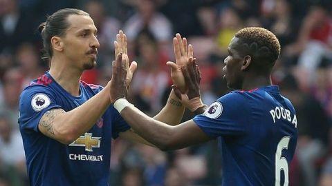 Ibrahimovic y Pogba, listos para volver con el Manchester United