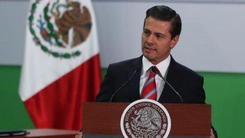 Transformación del mercado laboral está en marcha, afirma Peña Nieto