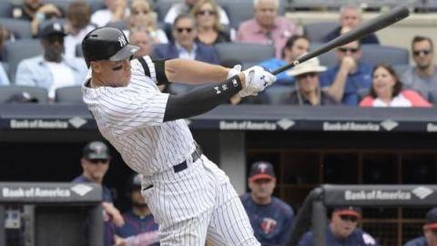 Aaron Judge de Yankees se opera un hombro