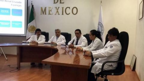 Realizan primer trasplante renal cruzado en el Hospital Juárez