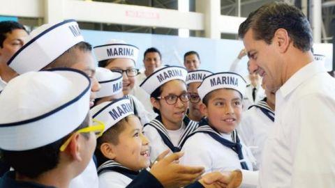 EPN: Candidato del PRI, no por aplausos