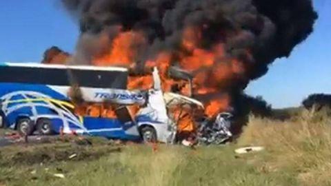 Suman cuatro muertos por accidente en Tamaulipas