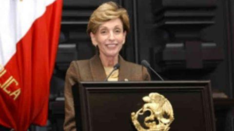 Senadoras reconocen trayectoria diplomática de Rosario Green