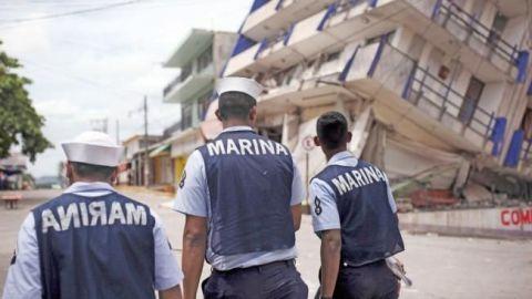Atención de desastres en 2017 cuesta a Semar 5 mdp